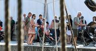 photo diaporama sorties semaine du golfe : un vendredi sur l'eau entre voile-avirons et trois-m�ts