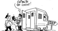 photo diaporama sorties concours des plaidoiries du m�morial de caen�: exposition des dessins de chaunu