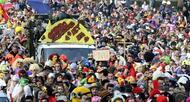 photo diaporama sorties 15 000 �tudiants font carnaval � caen