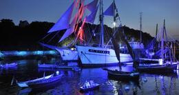 photo diaporama info en images: week-end au festival maritime temps fête