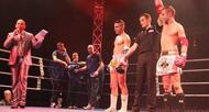 photo diaporama sport en images : revivez le gala de boxe tha�