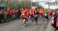 photo diaporama sport tulipes contre le cancer � falaise: retour en images sur la course