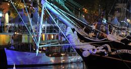 photo diaporama sorties semaine du golfe: le port de vannes s'illumine de mille couleurs