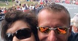 photo diaporama sport tour de france: vos selfies pris sur l'étape vannes-plumelec !