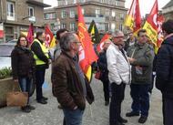 nouveau rassemblement contre la loi travail, à vire normandie