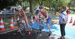 photo diaporama sport la ferté. près de 1 000 athlètes sur le week-end pour les 30 ans du triathlon