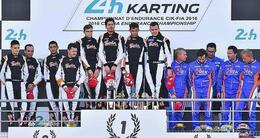 photo diaporama sport le mans. retour en images sur les 24 heures karting et la victoire du rtkf
