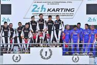 le mans. retour en images sur les 24 heures karting et la victoire du rtkf