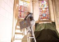 la chapelle-montligeon. d'importants travaux en cours à la basilique