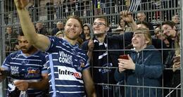 photo diaporama info rugby. en images: vannes emporte tout et la rabine chavire de bonheur