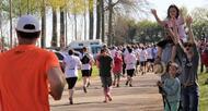 photo près de falaise, 1?800 coureurs contre le cancer [photos et vidéo]