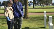 photo des milliers de scouts américains se recueillent à colleville [vidéo]