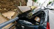photo diaporama info d�luge et orage, retour en images sur les inondations � nantes
