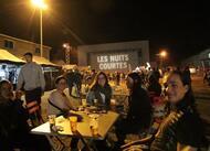 nuits courtes à fontenay-le-comte. première soirée de folie en images