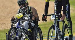 photo diaporama sport 24 heures vélo. la fête bat son plein