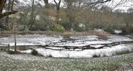 photo diaporama info en images. carhaix sous la neige