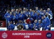en images. handball?: revivez le sacre de la france à l?euro féminin 2018