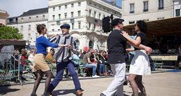 photo diaporama info le mans. quand l?europajazz en balade fait vibrer et danser le centre-ville [photos]