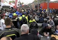 grand prix de france moto. les essais de samedi en images