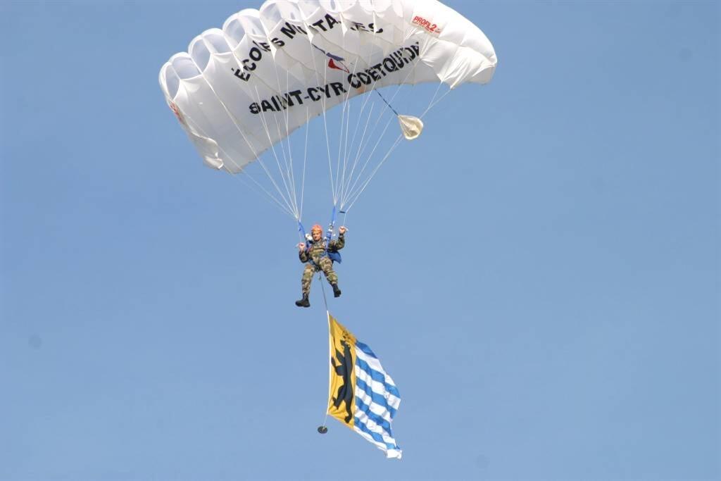 parachutisme dinard