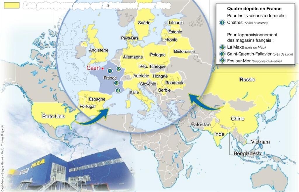 Ikea Fait Fabriquer Notamment En Europe Et En Chine Caen