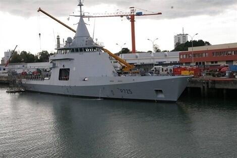 Construit sur les fonds propres de la DCNS, le patrouilleur L'Adroit sera le porte-drapeau de l'entreprise lorientaise.