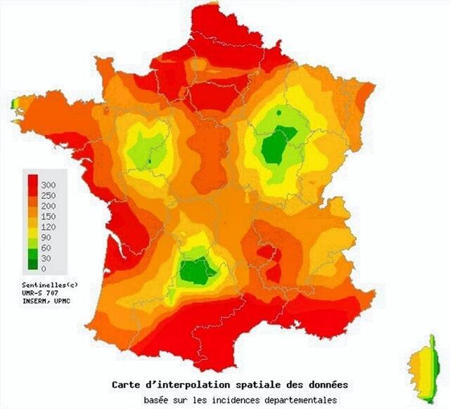 Carte Accord Upmc.L Epidemie De Gastro Enterite S Installe En France Caen