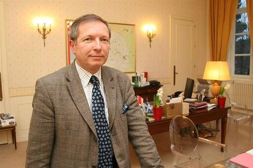 Jean-Jacques Brot, préfet du Finistère.