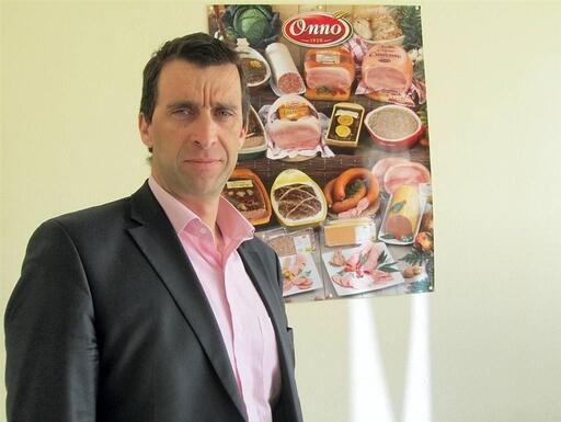 Bertrand Maubert, directeur de l'entreprise Onno.