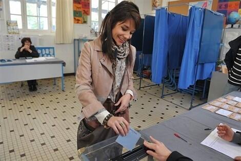 Election présidentielle ouverture des bureaux de vote nantes