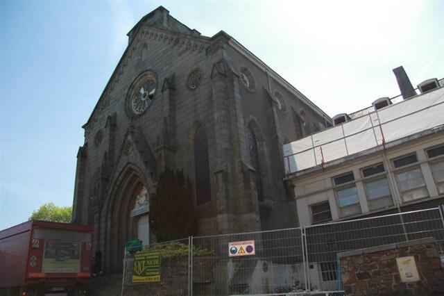 photo la ville de saint-brieuc rachète la chapelle lamennais. © ouest-france.