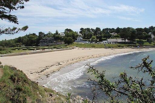 Kerfany, l'une des plus belles plages de Moëlan-sur-Mer.
