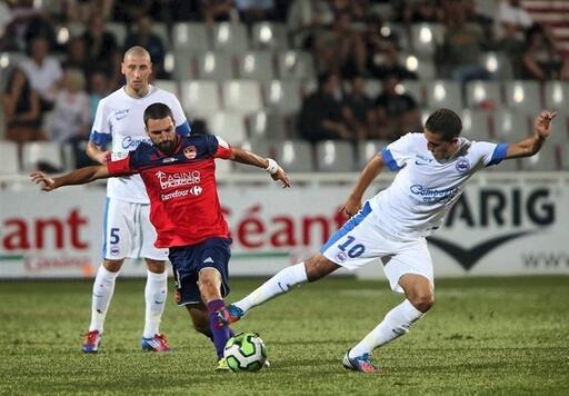 Fayçal Fajr, auteur d'un bon match, n'a pu emmener Caen vers la victoire