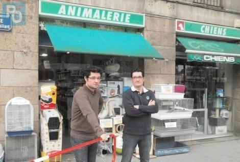 Nantes. Son animalerie emblématique en vente, symbole d'un Bouffay en détresse ? Photo PO