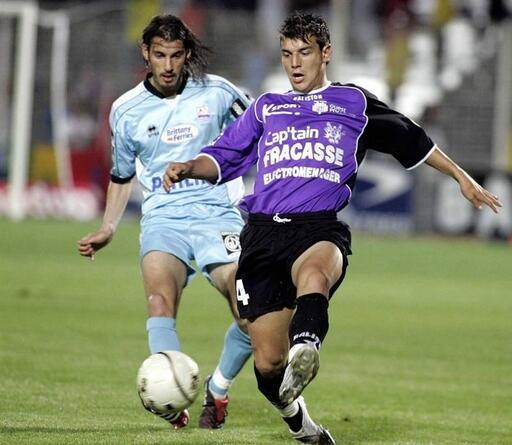 Le Malherbiste Nicolas Seube (à gauche) est l'un des rares joueurs actuels à avoir participé à la rencontre de 2005, face à Istres.