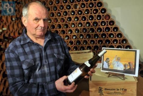 Un muscadet du Landreau choisi par le pape François comme vin de messe - Nantes.maville.com