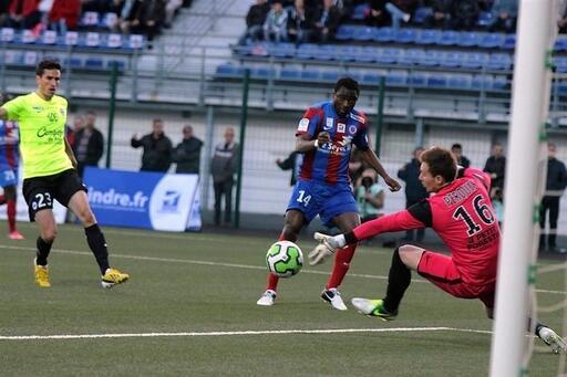 Damien Perquis et les Caennais pourront avoir des regrets concernant ce match à Châteauroux.