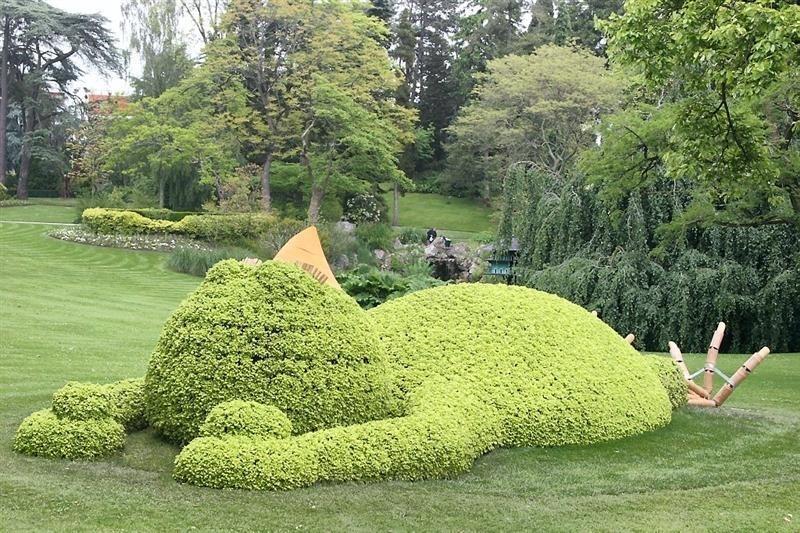 Le jardin des Plantes dévoile les créations de Claude Ponti ...