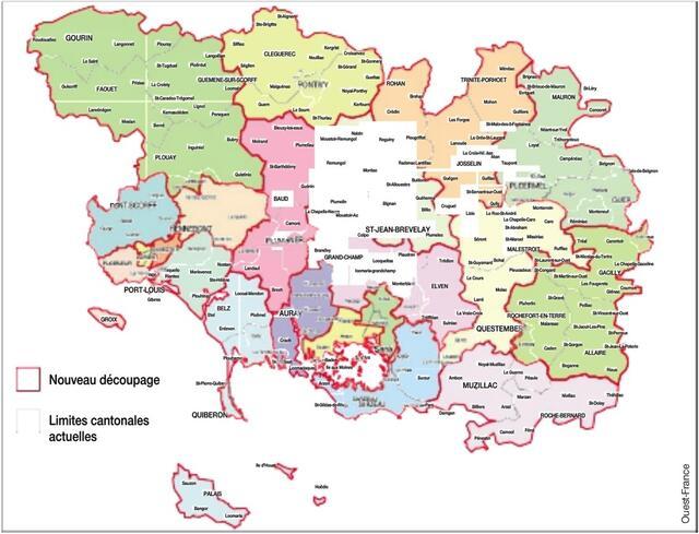 photo ce scénario de redécoupage électoral des cantons, qui tient compte des règles imposées par la loi, est un document de travail réalisé par la majorité départrementale.