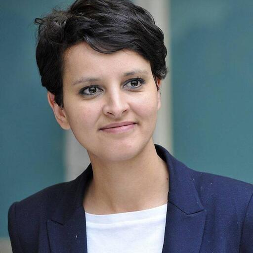 Najat Vallaud Belkacem, ministre des Droits des femmes et porte-parole du gouvernement.<br /><br /> Philiippe Renault<br /><br />
