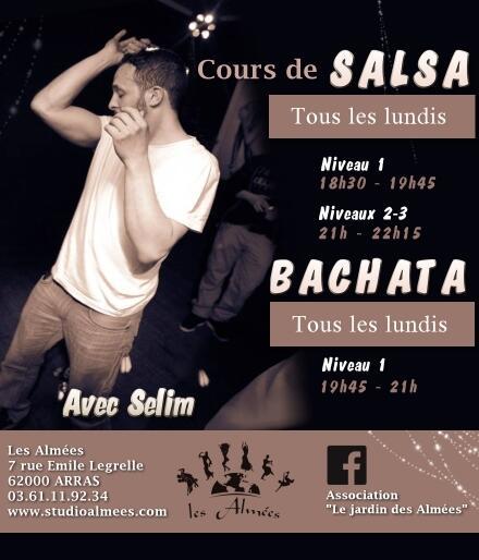 cours de salsa et bachata. info internaute - arras.maville.com - Cours De Cuisine Arras