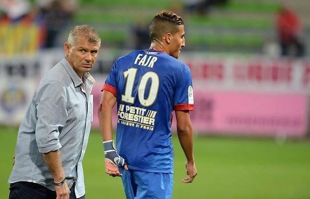 Patrice Garande : « J'essaie de convaincre Fayçal Fajr qu'il est un attaquant et pas un milieu de terrain.