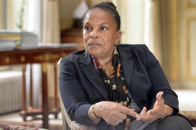 photo christiane taubira, ministre de la justice, défend sont projet de réforme pénale qui doit être présenté en conseil des ministre le 9 octobre. © daniel fouray