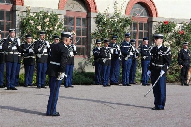 photo le colonel philippe leclercq dirige le groupement de gendarmerie des côtes-d'armor et le chef d'escadron jérôme millet est à la tête de la compagnie de gendarmerie de saint-brieuc.