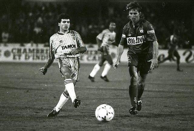 L'Anglais Graham Rix, joueur phare du Stade Malherbe du début des années 90, est attendu cet après-midi au stade d'Ornano pour les festivités du Centenaire.
