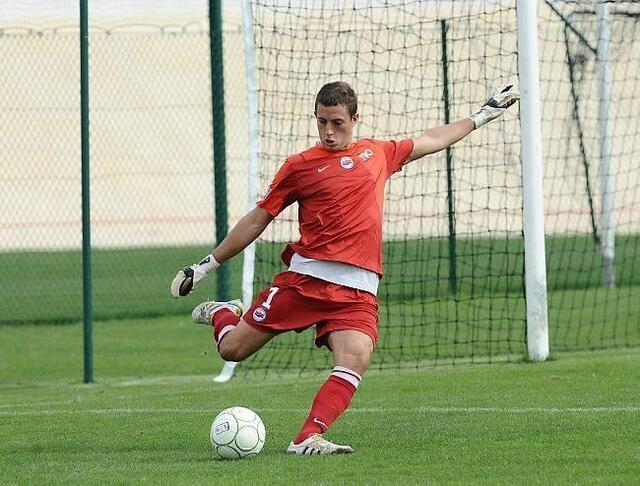Habitué à jouer avec la réserve,Thomas Bosmel est titulaire avecles pros pour la Coupe de France