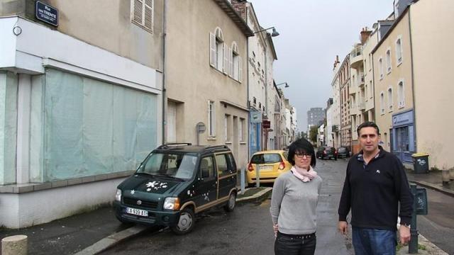 photo la rue des trente, l'une des 15 rues qui vont passer en stationnement payant dans le quartier d'arsenal-redon, à rennes. © photo : ouest-france