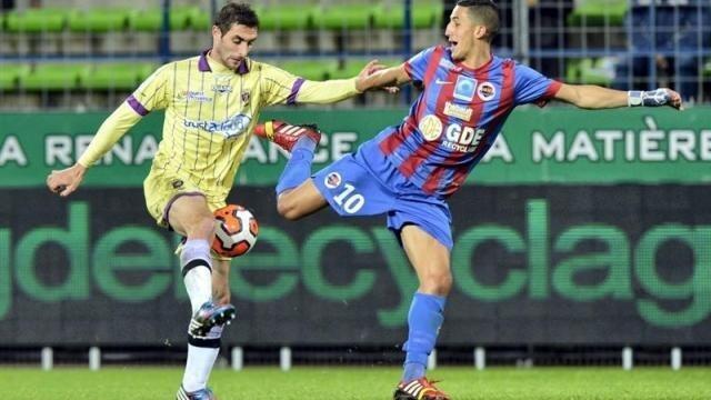 Fayçal Fajr et les Caennais ne doivent pas rentrer bredouilles d'Auxerre