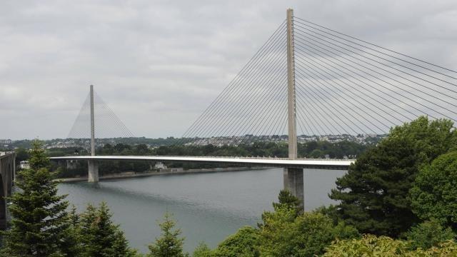 Tempete Brest Le Pont De L Iroise Ferme A Partir De 19 H