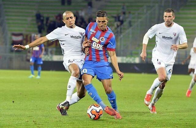 Fayçal Fajr est directement impliqué dans 41% des buts caennais